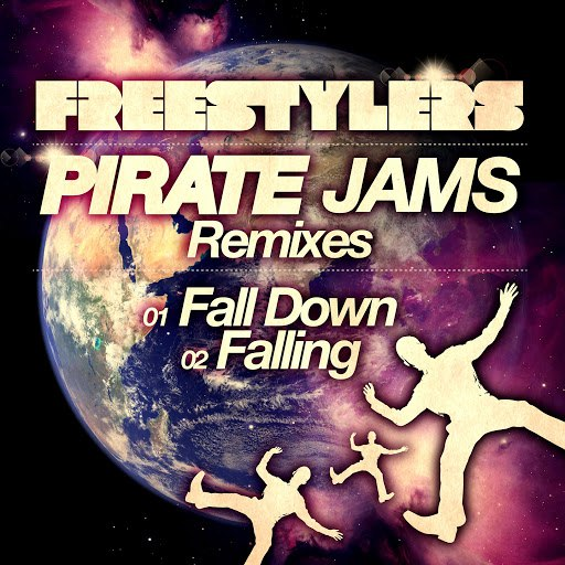 Freestylers альбом Fall Down / Falling (Pirate Jams Remixes)
