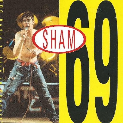 Sham 69 альбом Live In Concert