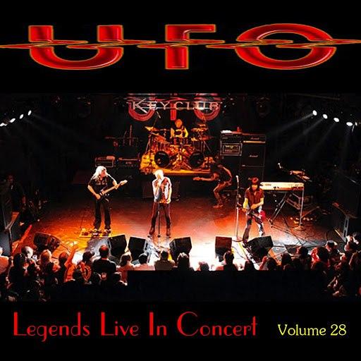 UFO альбом Legends Live In Concert Vol. 28