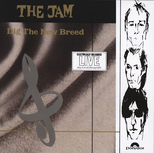 The Jam альбом Dig The New Breed (Live)