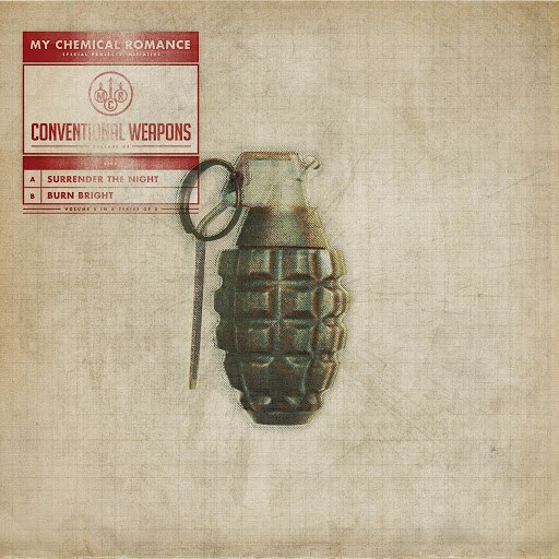 My Chemical Romance альбом Conventional Weapons: Release 05 (Surrender The Night / Burn Bright)