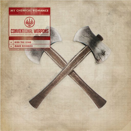 My Chemical Romance альбом Conventional Weapons: Release 04 (Kiss The Ring / Make Room!)