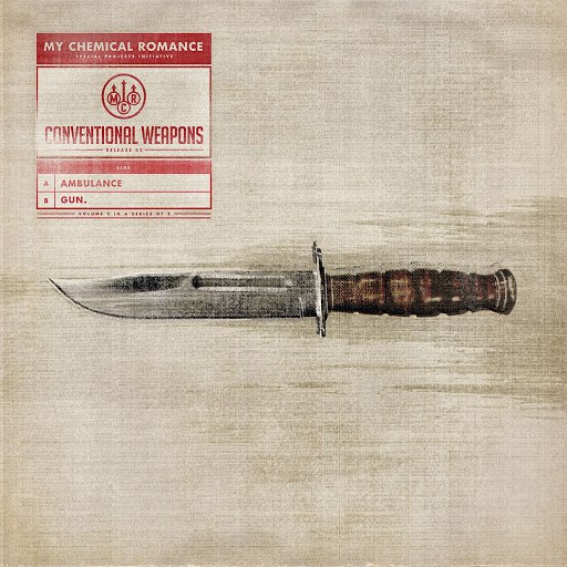 My Chemical Romance альбом Conventional Weapons: Release 02 (Ambulance / Gun.)