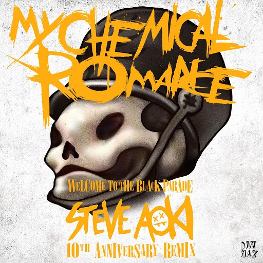 My Chemical Romance альбом Welcome to the Black Parade (Steve Aoki 10th Anniversary Remix)