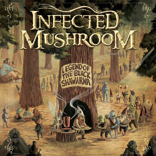 Infected Mushroom альбом Legend Of The Black Shawarma