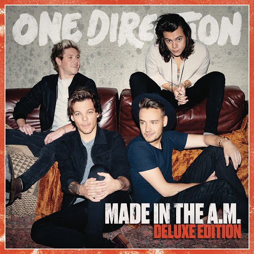 One Direction альбом Made In The A.M. (Deluxe Edition)