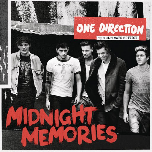 One Direction альбом Midnight Memories (Deluxe)