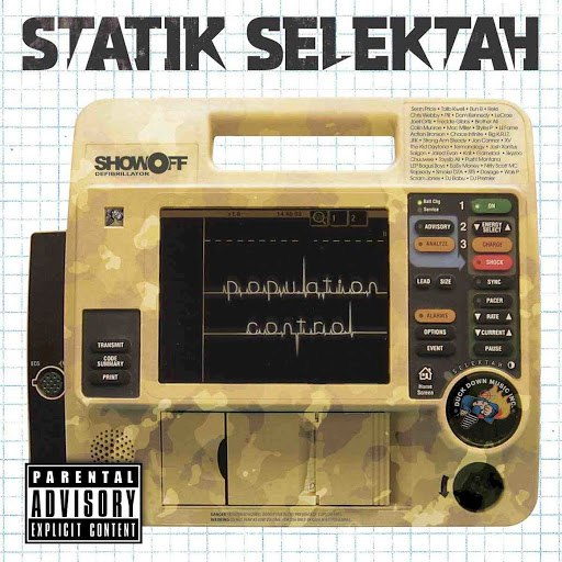 Statik Selektah альбом Population Control