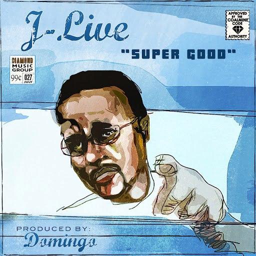 "J-Live альбом Super Good (Digi 12"")"