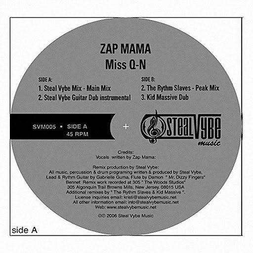 Zap Mama альбом Miss Q-N (Remixes)