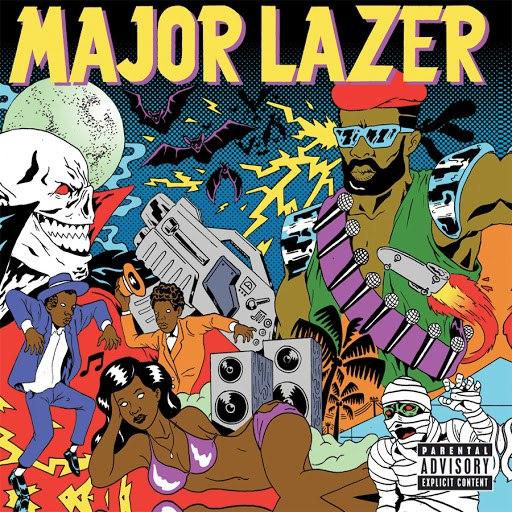Major Lazer альбом Guns Don't Kill People...Lazers Do (Deluxe)