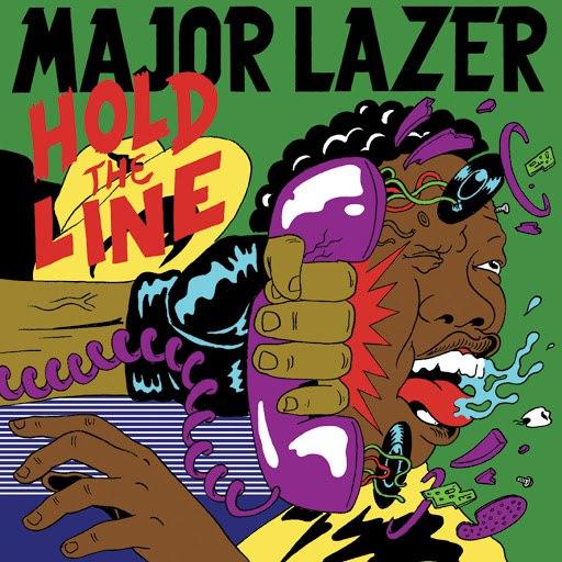 Major Lazer альбом Hold The Line feat. Mr. Lex & Santigold