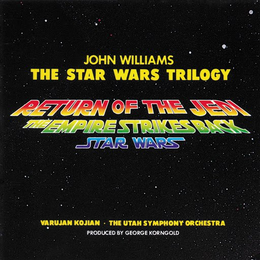 John Williams альбом The Star Wars Trilogy (Return of the Jedi / The Empire Strikes Back / Star Wars)