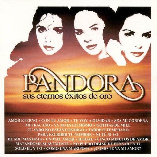 Pandora альбом Sus Eternos Éxitos de Oro