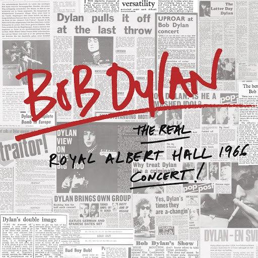 Bob Dylan альбом The Real Royal Albert Hall 1966 Concert (Live)