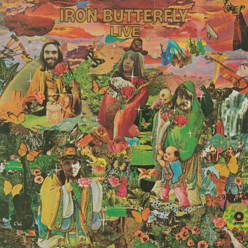 Iron Butterfly альбом Live