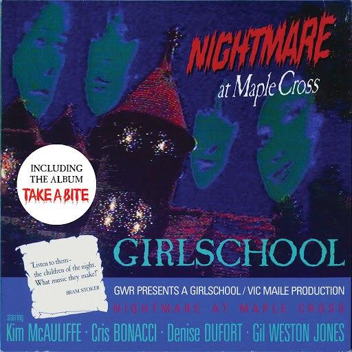 Girlschool альбом Nightmare At Maple Cross / Take a Bite