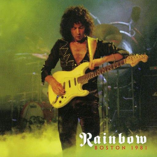 Rainbow альбом Boston 1981 (Live)