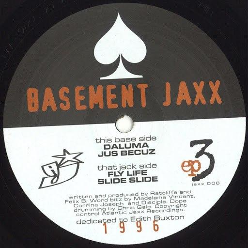 Basement Jaxx альбом EP3
