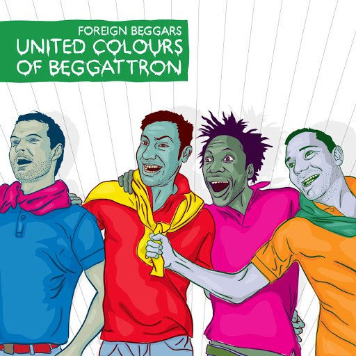 Foreign Beggars альбом United Colours Of Beggatron