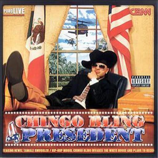 Chingo Bling альбом Chingo Bling for President