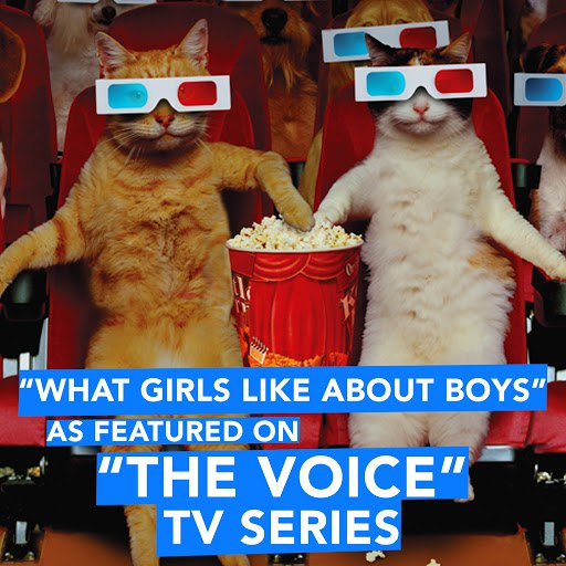 """Extreme Music альбом What Girls Like About Boys (As Featured on """"The Voice"""" TV Series)"""