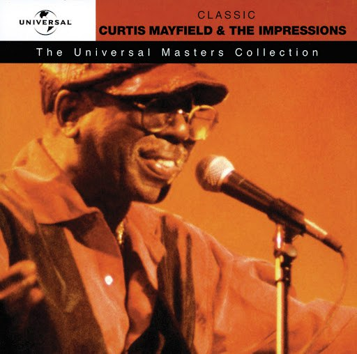 Curtis Mayfield альбом The Universal Masters Collection