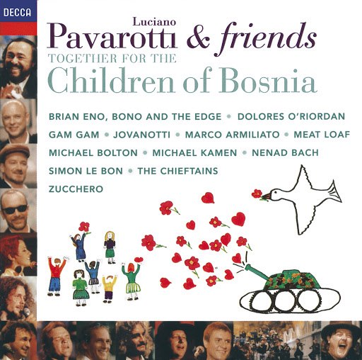 Luciano Pavarotti альбом Pavarotti & Friends Together For The Children Of Bosnia