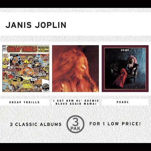 Janis Joplin альбом 3 Pak: Cheap Thrills / I Got Dem 'Ol Kozmic Blues Again Mama! / Pearl