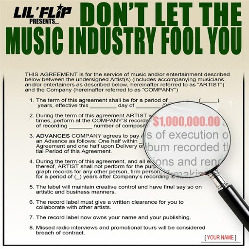 Lil' Flip альбом Don't Let the Music Industry Fool You