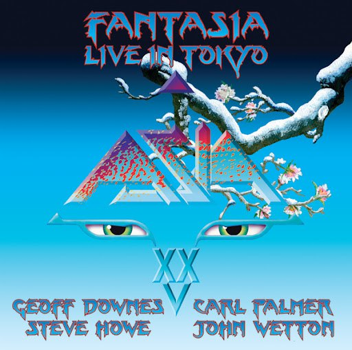 Asia альбом Fantasia Live In Tokyo