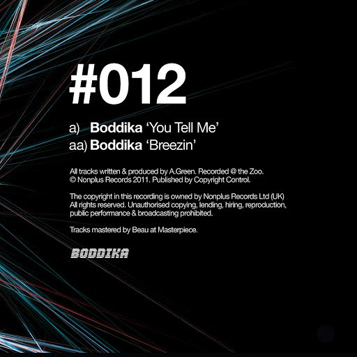Boddika альбом You Tell Me / Breezin