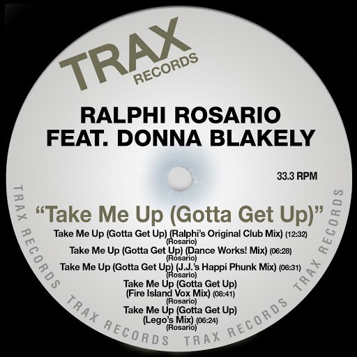 ralphi rosario альбом Take Me Up (Gotta Get Up)