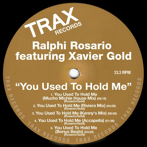 ralphi rosario альбом You Used To Hold Me