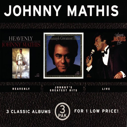 Johnny Mathis альбом Heavenly/Greatest Hits/Live