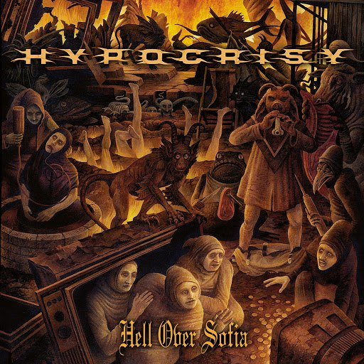 Hypocrisy альбом Hell Over Sofia - 20 Years of Chaos and Confusion (Live in Sofia)