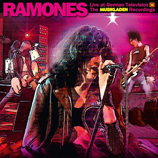 Ramones album Live at German Television - The Musikladen Recordings