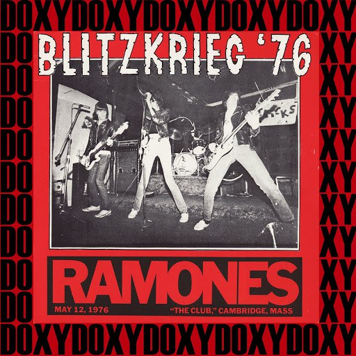 Ramones album Blitzkrieg 1976 (Doxy Collection, Remastered, Live)