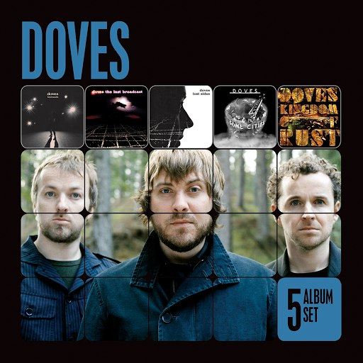 Doves альбом 5 Album Set (Lost Souls/The Last Broadcast/Lost Sides/Some Cities/Kingdom of Rust)