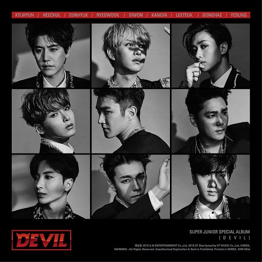 Super Junior альбом DEVIL - SUPER JUNIOR SPECIAL ALBUM