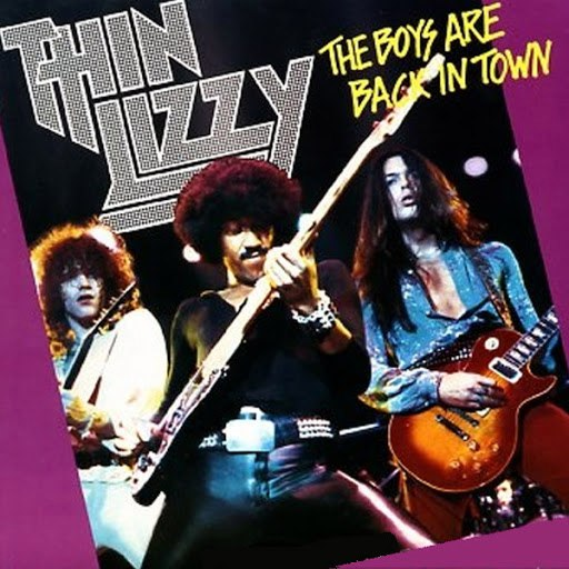 Thin Lizzy альбом The Boys Are Back In Town / Jailbreak