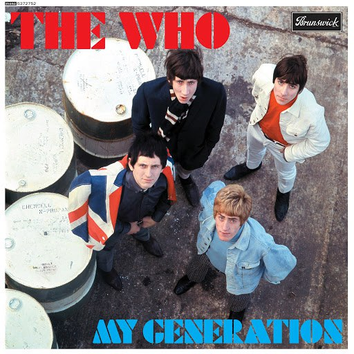 The Who альбом My Generation (50th Anniversary / Super Deluxe)