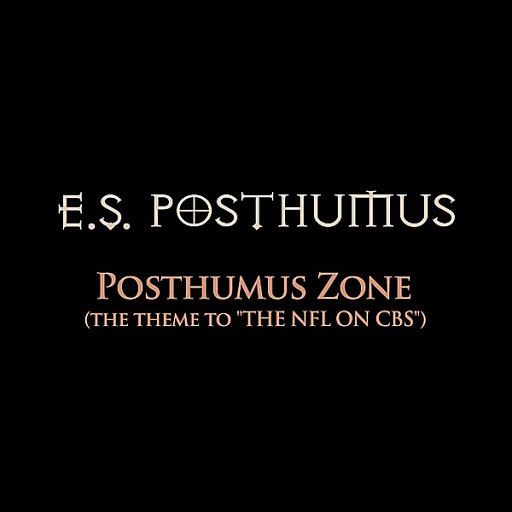 E.S. Posthumus альбом Posthumus Zone (The Theme to The NFL On CBS)
