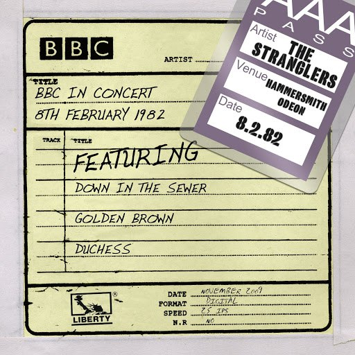 The Stranglers альбом BBC In Concert [8th February 1982] (8th February 1982)