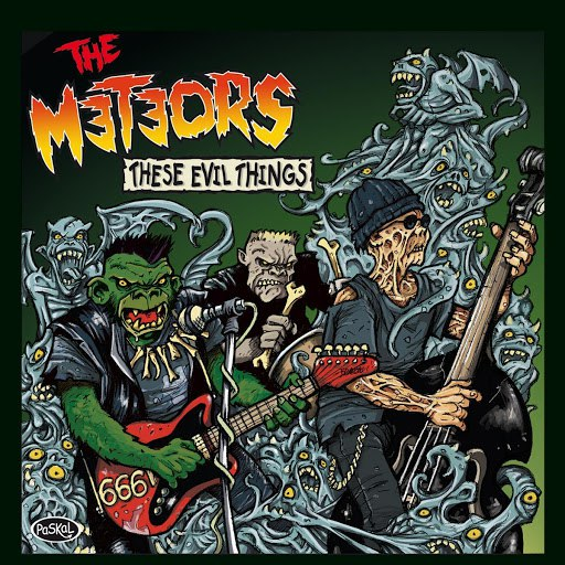 The Meteors альбом These Evil Things