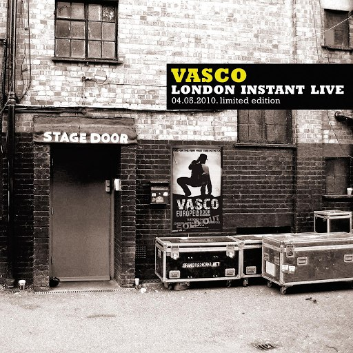 Vasco Rossi альбом Vasco London Instant Live (04.05.2010 - Limited Edition)