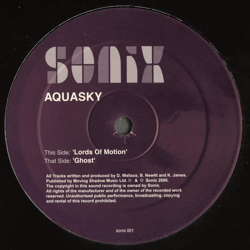 Aquasky альбом Lords of Motion / Ghost