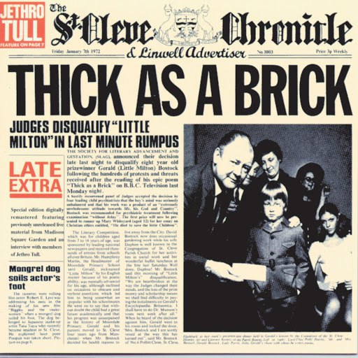 Jethro Tull альбом Thick As A Brick