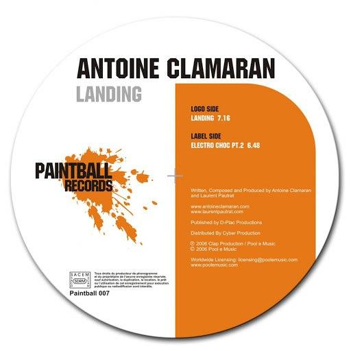 Antoine Clamaran альбом Landing Electro Choc Part 2