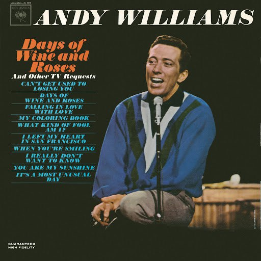 Andy Williams альбом Days of Wine and Roses